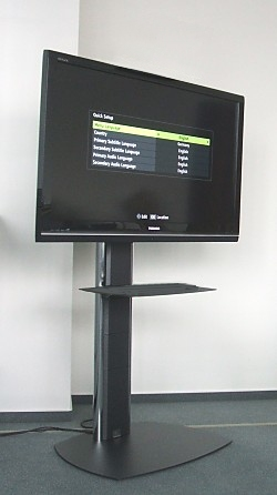 Bildschimstandfuss für Videokonferenzsysteme