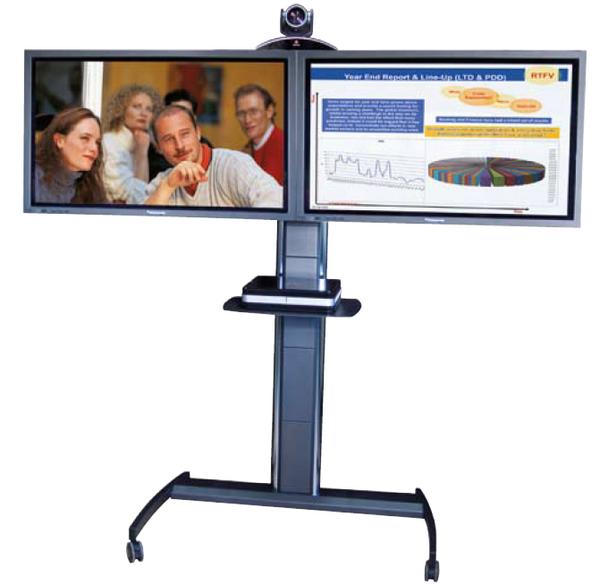 Dualmonitor Standfuß für zwei Bildschirme