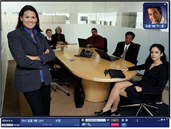 vPoint HD Client Software für Videokonferenzen