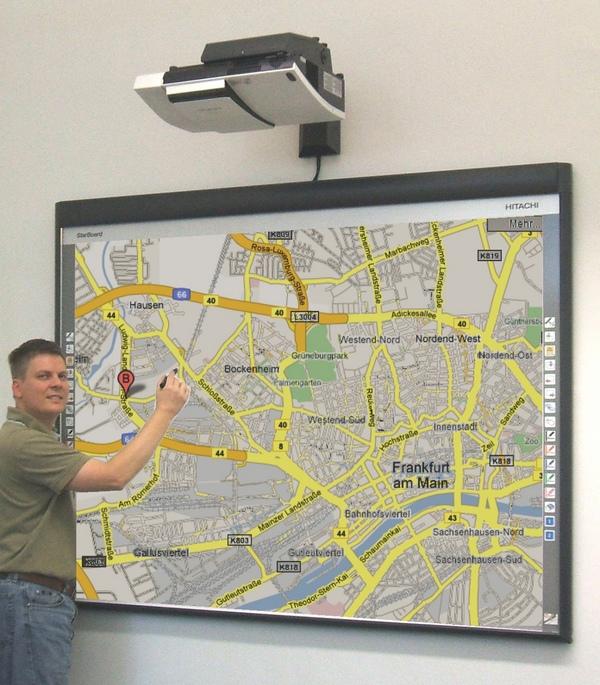 Whiteboard Verkauf, Installation und Schulung